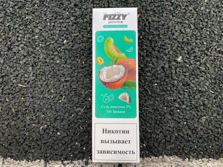 Одноразовые электронныая сигарета Fizzy Джунгли Канталупа Кокосовая Ананас вкусипар.рф