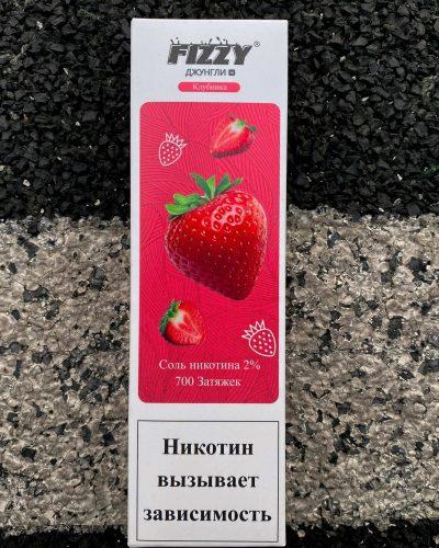 Одноразовые электронныая сигарета Fizzy Джунгли Клубника вкусипар.рф
