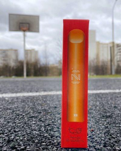 Одноразовый вейп электронная сигарета одноразка IZI XLL Mango Strawberry вкусипар.рф