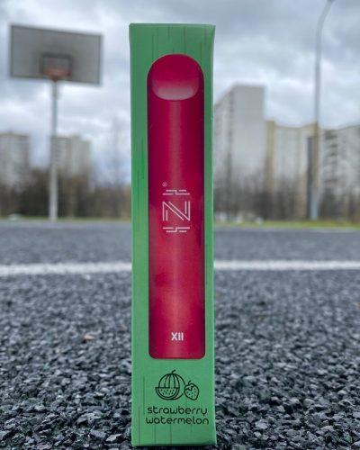 Одноразовый вейп электронная сигарета одноразка IZI XLL Strawberry Watermelon вкусипар.рф