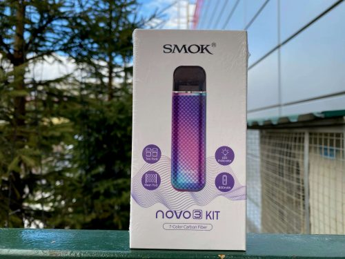 Pod Smok Novo 3 7-Color Carbon Fiber вкусипар.рф смок ново 3