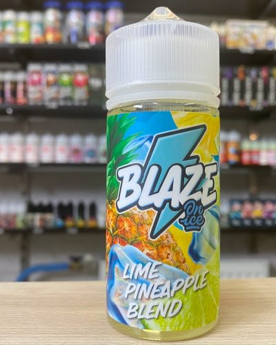 Жидкость Жидкость Blaze On Ice Lime Pineapple Blend вкусипар.рф