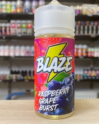 Жидкость Жидкость Blaze Raspberry Grape Burst вкусипар.рф
