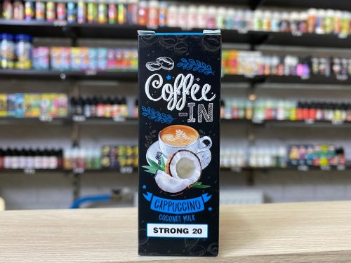 Жидкость Coffe-in Salt Cappuccino Coconut Milk вкусипар.рф