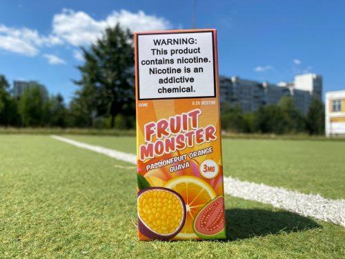 Жидкость Fruit Monster Passionfruit Orange Guava вкусипар.рф