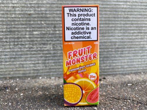 Жидкость Fruit Monster Salt Passionfruit Orange Guava вкусипар.рф
