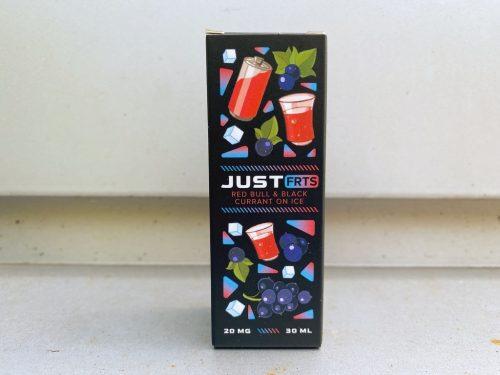 Жидкость Just FRTS Salt Red Bull Black Currant on Ice вкусипар.рф