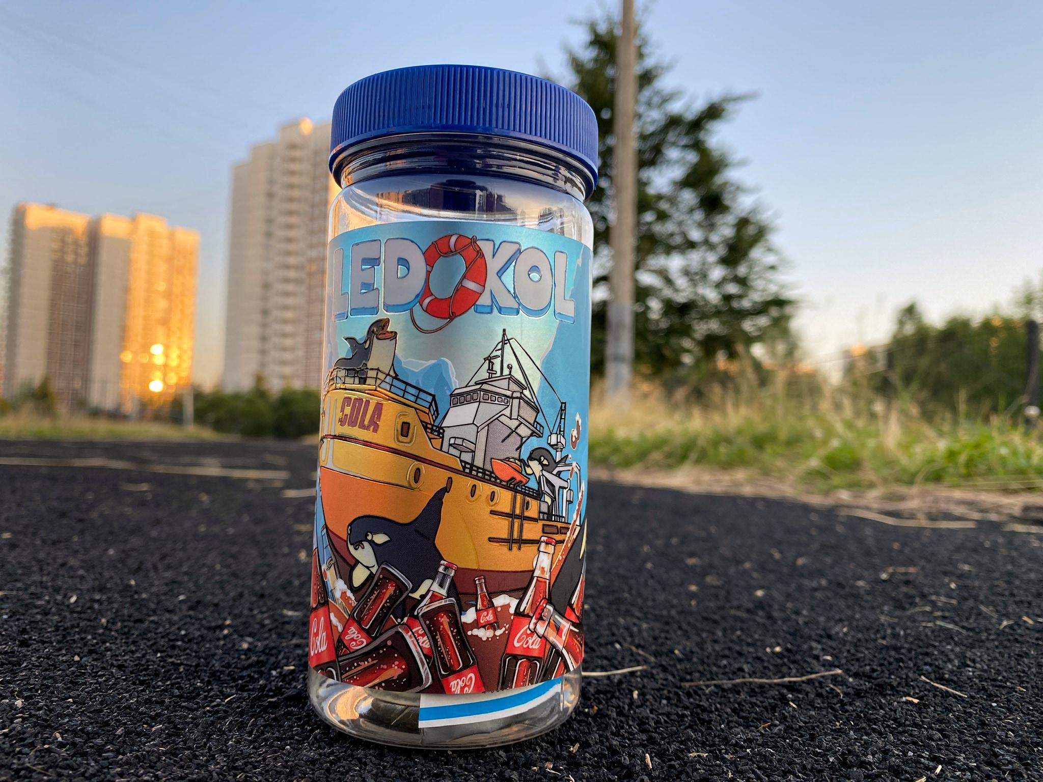 Жидкость Ledokol Cola вкусипар.рф