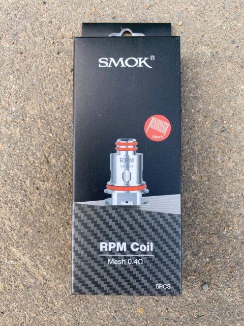 Испарители на Smok RPM mesh 0,4 ом вкусипар.рф
