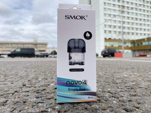 Пустой картридж Smok Novo 4 Empty Pod вкусипар.рф