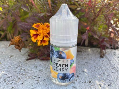 Жидкость Ice paradise Salt Peach Berry вкусипар.рф