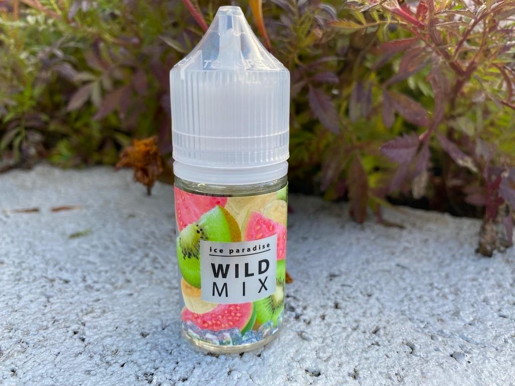 Жидкость Ice paradise Salt wild mix вкусипар.рф