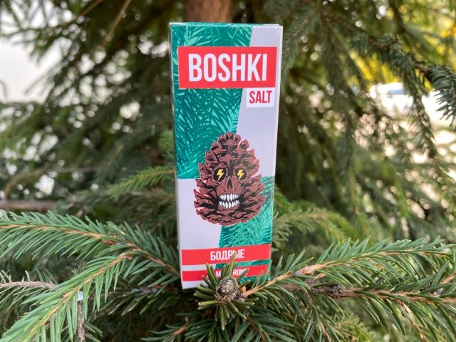 Жидкость Boshki Salt Бодрые вкусипар.рф