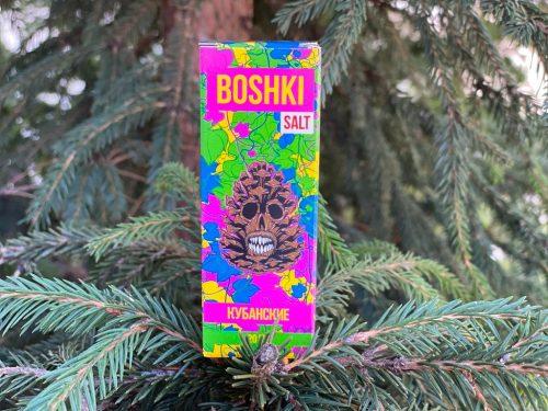 Жидкость Boshki Salt Кубанские вкусипар.рф
